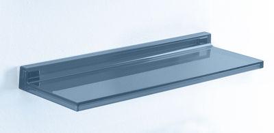Foto Scaffale Shelfish - / L 45 cm di Kartell - Blu crepuscolo - Materiale plastico