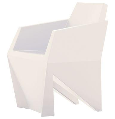 Chaise Gemma - B-LINE blanc en matière plastique