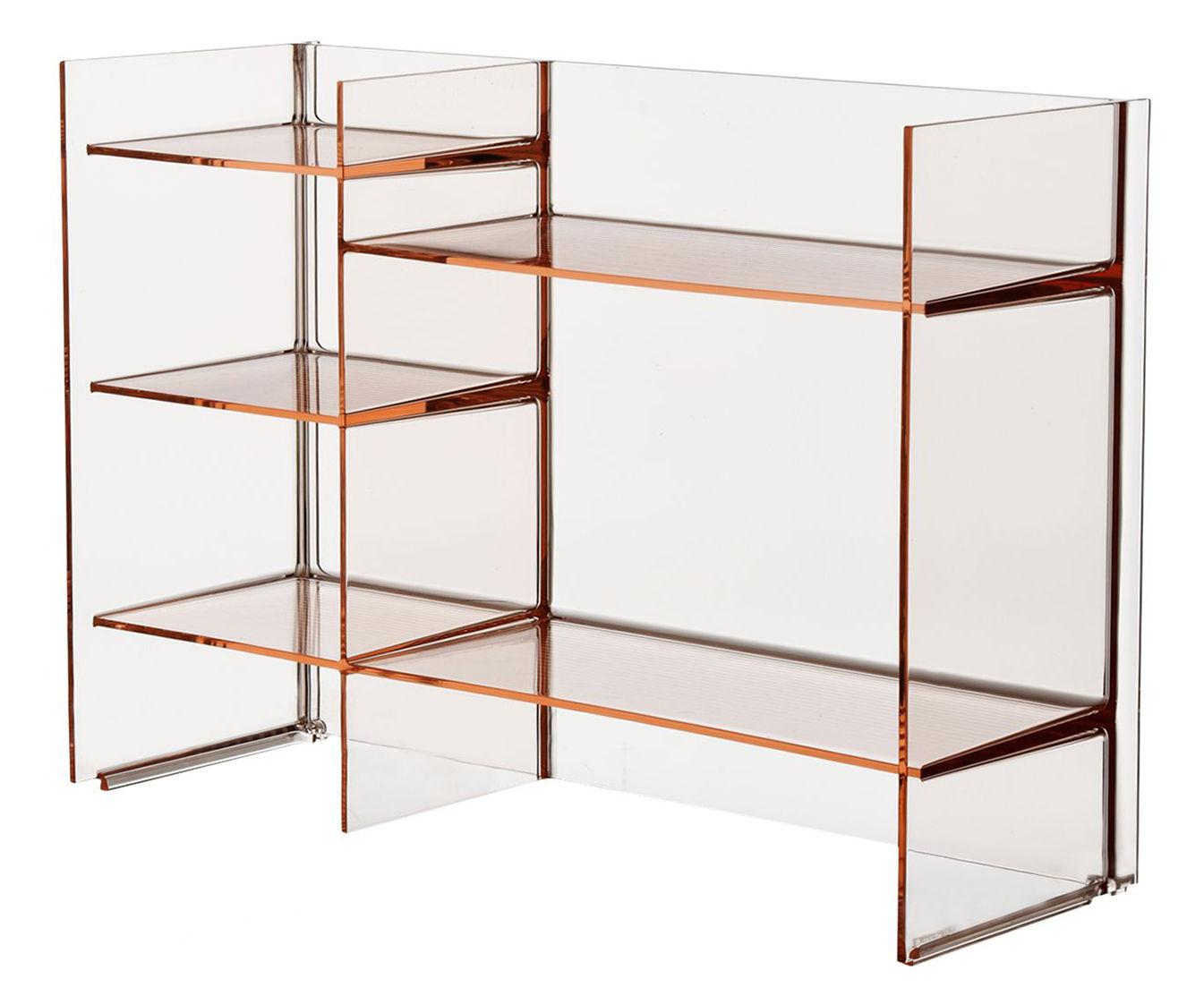 sound rack l 75 cm x h 53 cm kartell aufbewahrungsm bel. Black Bedroom Furniture Sets. Home Design Ideas