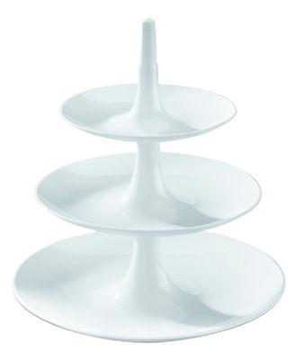 Tavola - Piatti da portata - Alzata Babell XS di Koziol - Bianco - Polipropilene