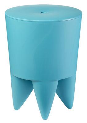 tabouret new bubu 1er coffre plastique bleu xo. Black Bedroom Furniture Sets. Home Design Ideas