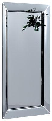 Déco - Miroirs - Miroir à poser Caadre / 105 x 195 cm - FIAM - 105 x 195 cm / Argenté - Verre