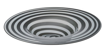 Foto Coppa Twist - Ø 46 cm di Leonardo - Grigio - Vetro