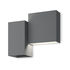 Applique Structural LED - / 26 x 22 cm di Vibia