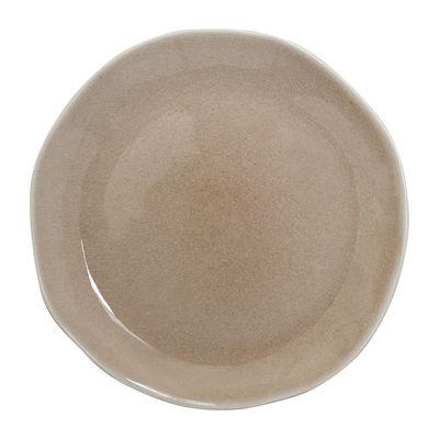 Arts de la table - Assiettes - Assiette de présentation Maguelone / Ø 31 cm - Grès fait main - Jars Céramistes - Tamaris - Grès émaillé