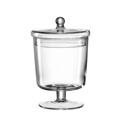 Cucina - Lattine, Pentole e Vasi - Barattolo di caramelle Poesia - / Ø 12 x H 19 cm - Vetro di Leonardo - Ø 12 cm / Trasparente - Vetro