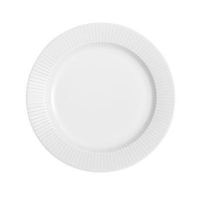 Tableware - Plates - Legio Nova Dessert plate - Ø 19 cm by Eva Trio - White - China