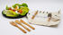Bam Bam Kit für Mahlzeiten aus Bambus / Besteck & Zahnbürste - Umweltfreundlich - Cookut
