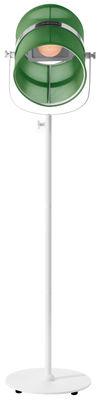Lampadaire solaire La Lampe Paris LED / Sans fil - Maiori blanc,jade en métal