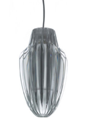Lighting - Pendant Lighting - Agave Pendant - Oval shape by Luceplan - Transparent - Methacrylate