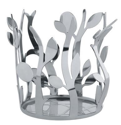 Arts de la table - Huile et vinaigre - Porte-bouteilles Oliette / Pour bouteilles d'huile - Alessi - Acier poli miroir - Acier inoxydable poli miroir