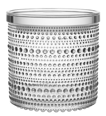 Cucina - Lattine, Pentole e Vasi - Scatola Kastehelmi / Ø 11,6 cm - Iittala - Trasparente - Plastica, Vetro