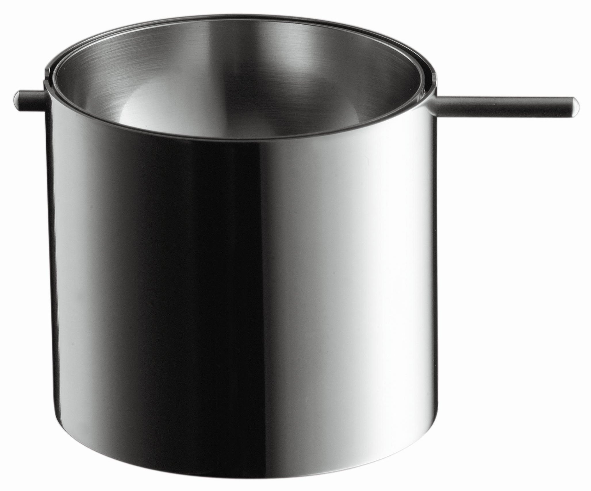 Accessories - Ashtrays - Cylinda-Line Ashtray - Revolving ash tray by Stelton - Small - Stainless steel