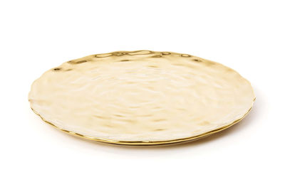 Assiette Fingers / Ø 29 cm - Seletti doré en céramique