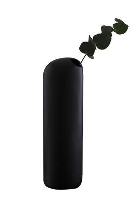 Carafe Ô / Soliflore - Moustache noir en céramique