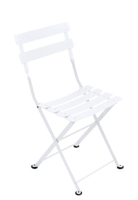 Mobilier - Mobilier Kids - Chaise enfant Tom Pouce / Pliante - Acier - Fermob - Blanc coton - Acier peint