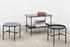 Rebar Coffee table - / Marbre - Ø 45 by Hay