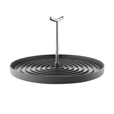 Cuisine - Vaisselle et nettoyage - Egouttoir pliable / Plastique - Ø 31 cm - Eva Solo - Noir - Acier inoxydable, Matière plastique