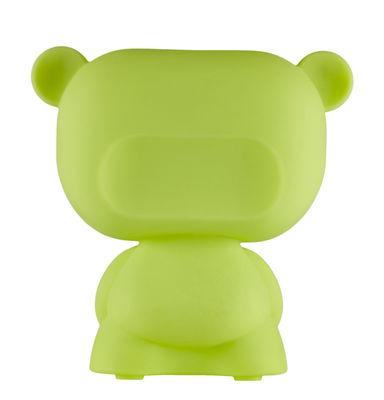 Lampe de table Pure / H 45 cm - Slide vert en matière plastique