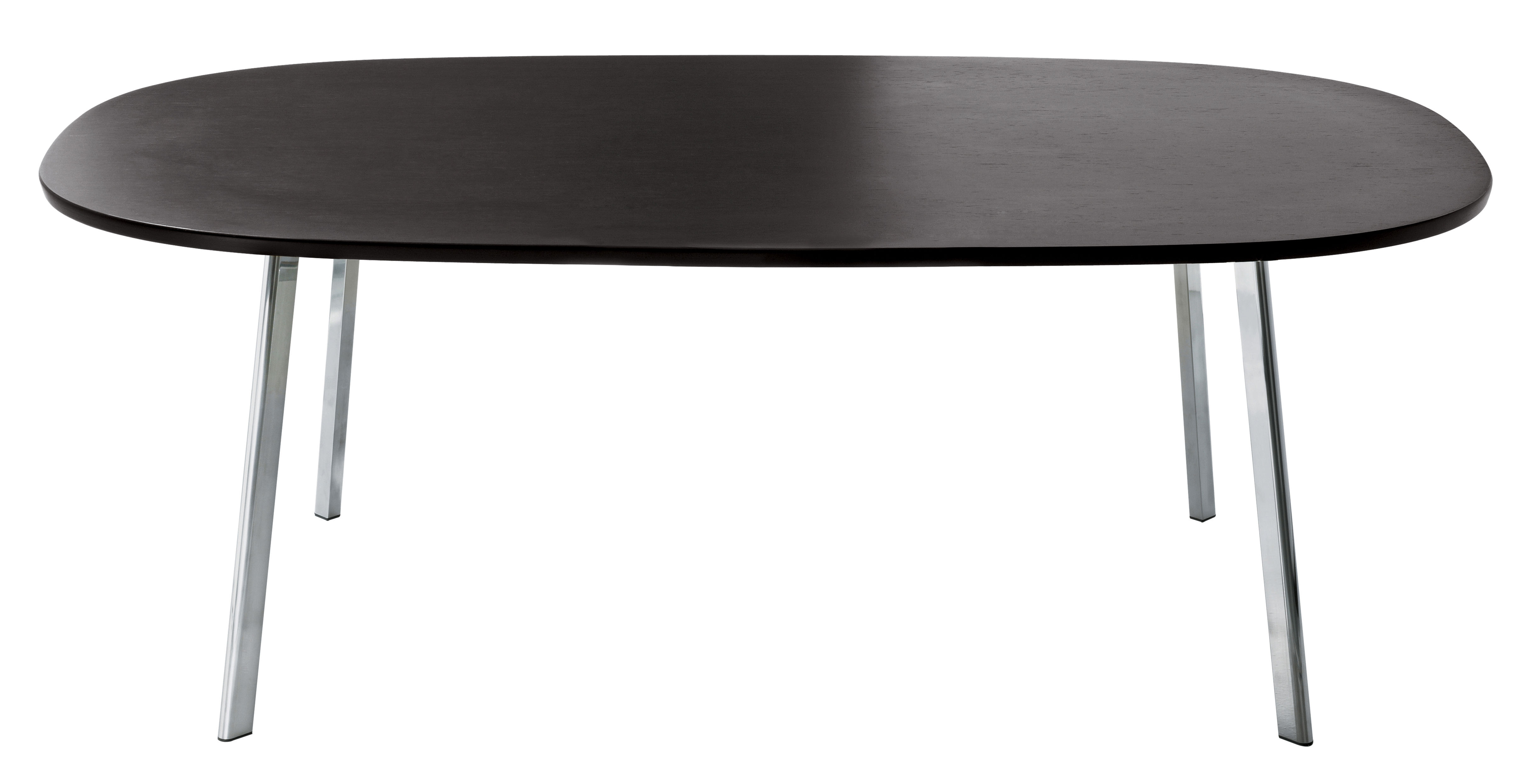 Möbel - Tische - Déjà-vu rechteckiger Tisch 200 cm - Magis - Platte: wenge - MDF plaqué chêne teinté, poliertes Aluminium