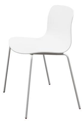 Scopri Sedia impilabile About a chair AAC16 -/ Guscio plastica ...