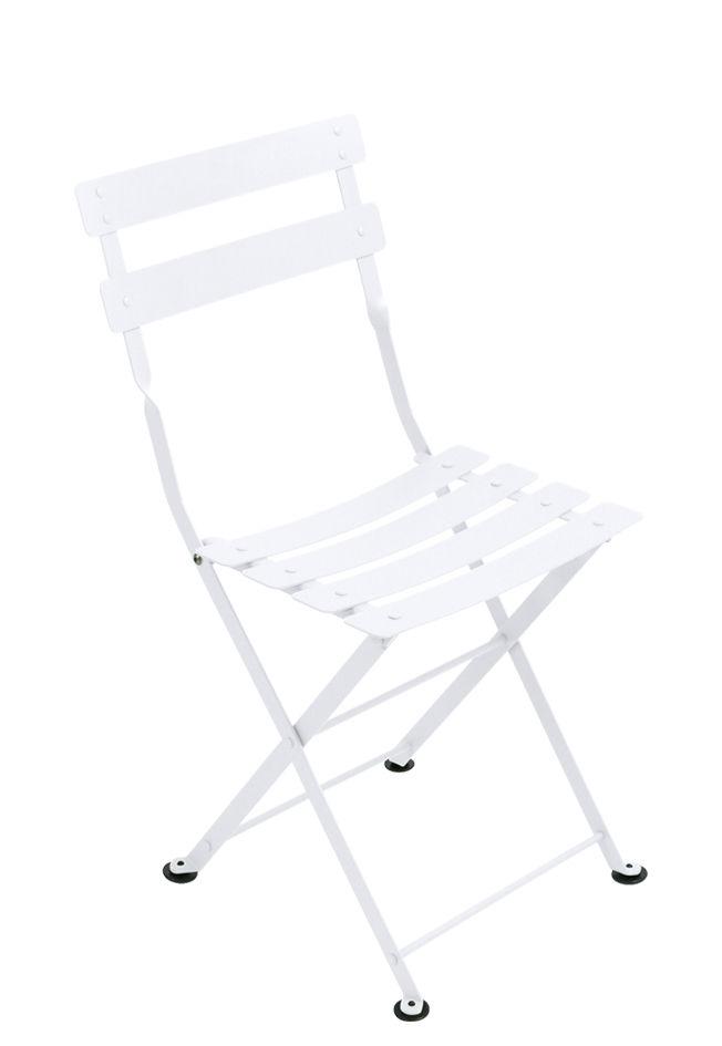 Arredamento - Mobili per bambini - Sedia bambino Tom Pouce / Acciaio - Fermob - bianco cotone - Acciaio verniciato