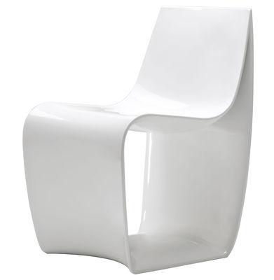 Möbel - Stühle  - Sign Sessel - MDF Italia - Weiß lackiert - lackiertes Polyamid