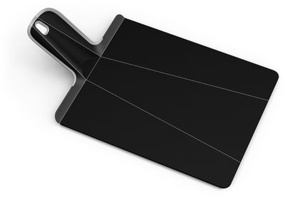 Cucina - Pratici e intelligenti - Tagliere Chop2Pot - pieghevole di Joseph Joseph - Nero - Polipropilene