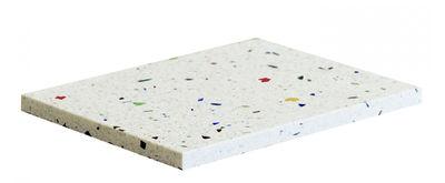 Tableware - Trays - Confetti Small Tray - Terrazzo - L 20 cm by OK Design pour Sentou Edition - Multicolore - Terrazzo