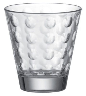 Verre à whisky Optic / H 9 x Ø 8,5 cm - 25 cl - Leonardo transparent en verre