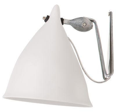 Illuminazione - Lampade da parete - Applique Cornette - in porcellana di Tsé-Tsé - Porcellana bianca opaca - Porcellana
