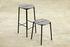 Novo Bar stool - / H 75 cm - Metal by AYTM
