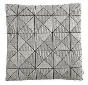 Image of Cuscino Tile / 50 x 50 cm - Muuto - Bianco,Nero - Tessuto
