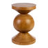 Ball End table - / Hand-carved wood by Pols Potten
