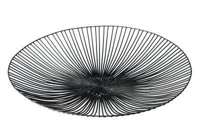 Tischkultur - Körbe, Fruchtkörbe und Tischgestecke - Edo Korb / Ø 50 cm - Serax - Schwarz - Ø 50 cm - Metall