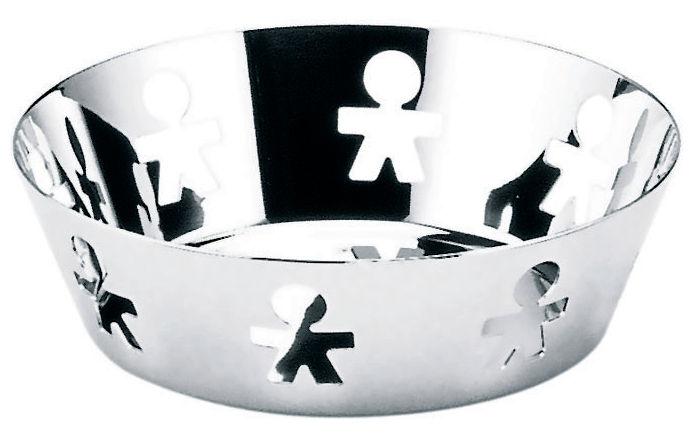 Tischkultur - Körbe, Fruchtkörbe und Tischgestecke - Girotondo Korb - A di Alessi - poliert glänzend - rostfreier Stahl