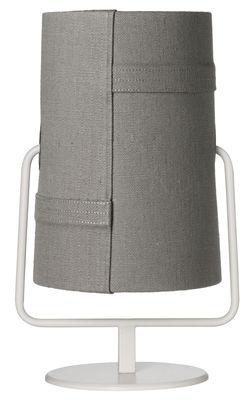 Lampe de table Fork Maxi / H 44 cm - Diesel with Foscarini gris,ivoire en métal