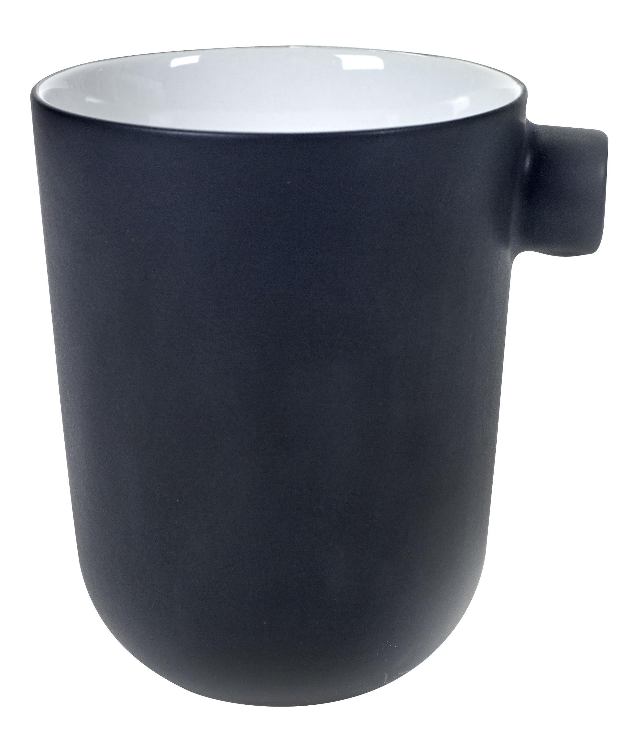 Arts de la table - Tasses et mugs - Mug Daily Beginnings - Serax - Noir - Grès