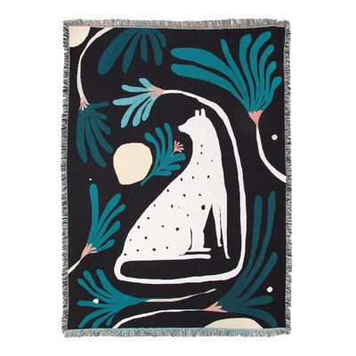 Öko-Design - Kreislaufwirtschaft - Marshall Plaid / By Daniel Barreto - 137 x 178 cm - Slowdown Studio - Daniel Barreto - Recycelte Baumwolle