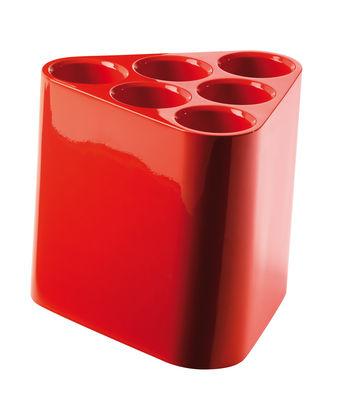 Image of Portaombrelli Poppins - Portabottiglie di Magis - Arancione lucido - Materiale plastico