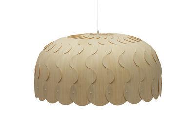 Suspension Beau / Small - Ø 60 cm - David Trubridge bois naturel en bois