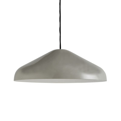 Suspension Pao Large / Ø 47 cm - Acier - Hay gris en métal