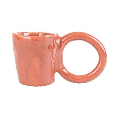 Arts de la table - Tasses et mugs - Tasse Donut Large / Edition limitée - Fait main - PIA CHEVALIER - Brique - Faïence émaillée