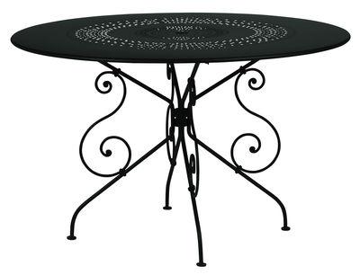 1900 Tisch Ø 117 cm - Mit Loch für Sonnenschirm - Fermob - Lakritz