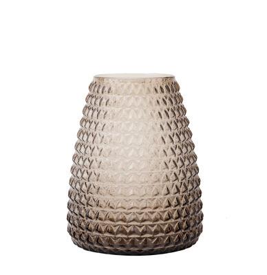 Déco - Vases - Vase Dim / Vase - Ø 18 x H 22 cm - XL Boom - Medium / Ecaillé - Verre soufflé bouche