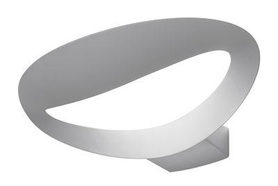 Lighting - Wall Lights - Mesmeri Wall light by Artemide - White - Varnished aluminium