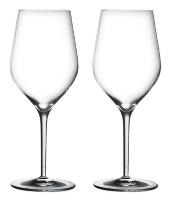 Tableware - Wine Glasses & Glassware - Good Size n° 3 Wine glass - For Bourgogne Wine by L'Atelier du Vin - Transparent - Blown glass