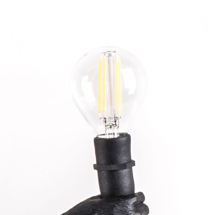 Luminaire - Ampoules et accessoires - Ampoule LED E14 E14 / 2W / Pour lampes Monkey - Outdoor - Seletti - Transparent - Métal, Verre