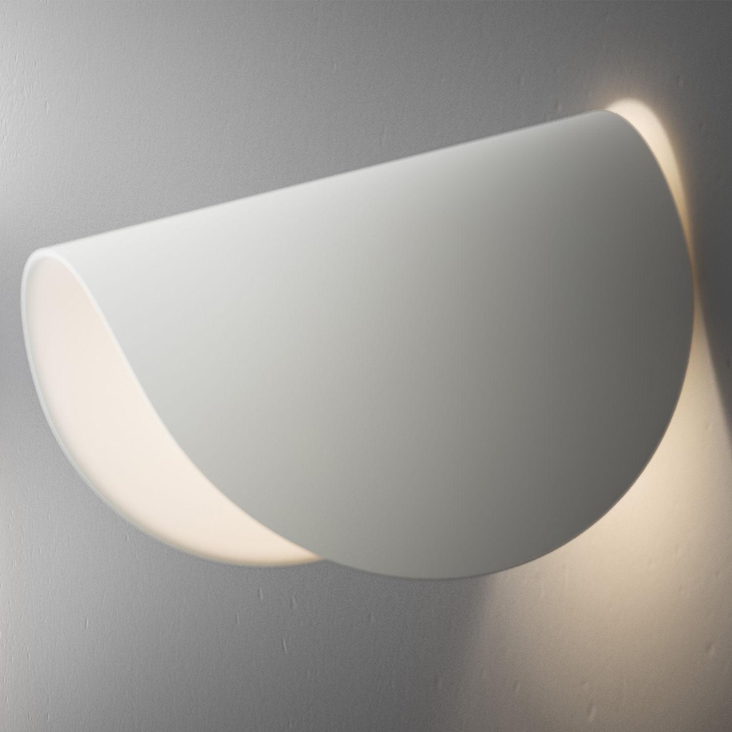 Applique IO LED Fontana Arte - Blanc - l 10.5 x h 16.5 | Made In Design