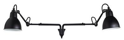Applique N° 203 Double / Lampe Gras - DCW éditions noir satiné en métal